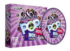 Zoom Karaoke Pop Box 2015 6 Disc CD + G Set New Sealed