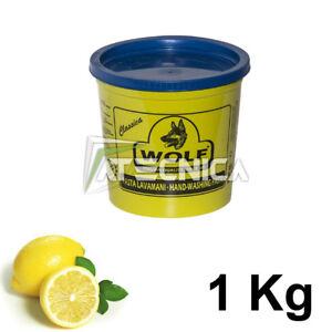 Pasta Lavamanos Con Esencia De Limón Desengrase Atecnica Lobo 1 KG