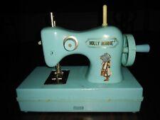 Holly Hobbie Sewing Machine #5820 Durham Industries Aqua Color
