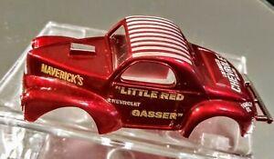 AURORA model Motoring Willys Gasser Little RED Gasser red hot rod body only