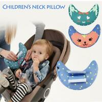 Kids Car Seat Belt Shoulder Pads Headrest Neck Support Pillow Protector Cover