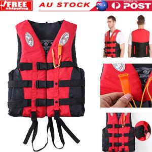 Life Jacket Fishing Watersport Kayak Ski Buoyancy Aid Sailing Vest Kids Adult AU