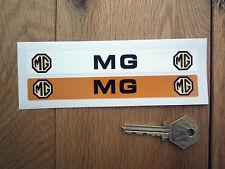MG Number Plate Dealer Logo Cover Stickers Midget MGB MGA Magnette RV8 TA TD ZB
