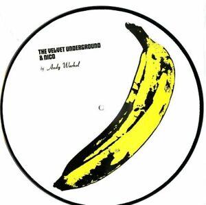 "Velvet Underground and Nico Andy Warhol Picture Disc Record VINYL 12"" Album RARE"
