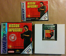MISSION IMPOSSIBLE pour Nintendo Gameboy Color