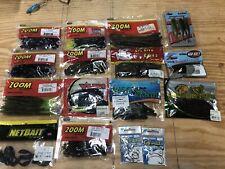 Bass Fishing soft plastic lot***Zoom/Net Bait/Z-man