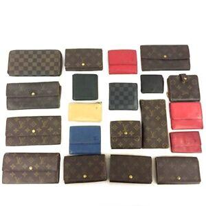 Louis Vuitton Monogram Damier Epi Wallet Case 20pc Set Damaged / j71