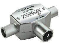 SCHWAIGER ASV 42S 2 - Fach TV Anschlussverteiler Aufsteckverteiler IEC