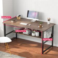 Schreibtisch Computertisch Bürotisch Home Office Arbeitstisch 120x72x45CM.