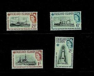 Falkland Islands: 1964 50th Anniversary Battle of the Falklands, MLH  set