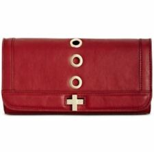 Inc International Concepts $59 NWT Korra Clutch with chain strap Red KORRACRED