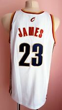 NBA CLEVELAND CAVALIERS BASKETBALL CHAMPION SHIRT JERSEY #23 LEBRON JAMES SIZE L