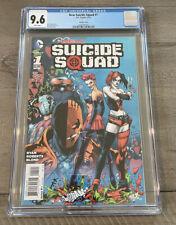 New Suicide Squad 1 Reis Variant CGC 9.6 NM+2014  Harley Quinn