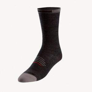 Pearl Izumi Elite Tall Merino Wool Cycling Sock Black Small Brand New