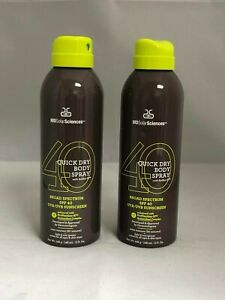 MD Solar Sciences Quick Dry Body Spray 5 oz 2pk (75% Full)