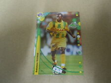 Carte France  Foot 2000 - N°162 - Nantes - Salomon Olembé