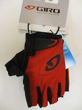 Giro Tessa gel Women's Mountain Bike Cycling Gloves Red/Black Small New W/Tags