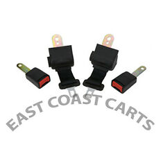 EZGO, Club Car, Yamaha Universal Golf Cart Seat Belt / 2 Retractable Seat Belts