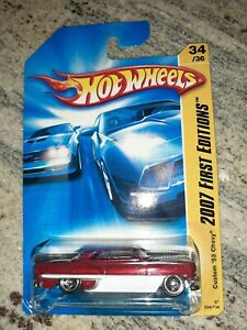 Hot Wheels 2007 First Editions Custom '53 Chevy, Red, 34 of 36 034/156 (B4)