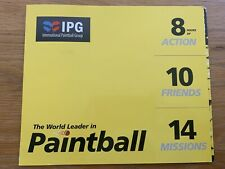 IPG Paintball Tickets x 10 & 1000 Free Paintballs - NO EXPIRY