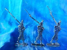 Plats d'étain - flat tin - zinnfiguren : 3 chasseurs d'afrique - France 1870