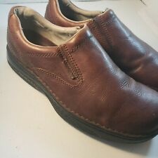 Merrell World Passport Redwood Men's Size 13 Brown Leather Slip On Casual Shoes