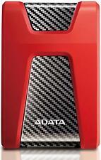 ADATA HD650 2TB USB 3.1 Shock-Resistant Xbox & PS4 External Hard Drive, Red