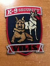 UKRAINE PATCH K9 K-9 CANINE SECURITY COMPANY VILIS - ORIGINAL!