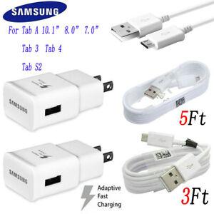 Original OEM Samsung Galaxy Tab 3 Tab 4 Tab A ,Tab S2 Fast Wall Adapter Charger