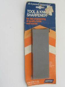 "Norton 6"" Fine/ Coarse Tool & Knife Sharpener No. 85451-5 Catalog No. JB-6A"