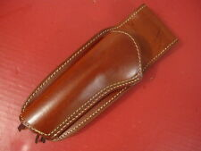 """LH Hunter Leather Wester Style Holster for Ruger Single Six Revolver 5 1/2"""" Bbl"""