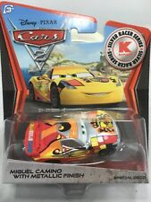 "2012 Disney Pixar CARS 2: ""MIGUEL CAMINO WITH METALLIC FINISH"" Kmart Exclusive"