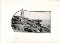 Vintage Photo Postcard- Yarmouth Lighthouse, Nova Scotia