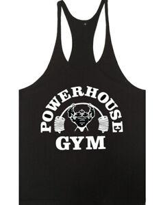 Men Gym Tank Top Bodybuilding Vest Workout Cotton Regatas Workout Sleeveless