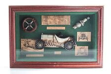 Mercedes 1908 French Grand Prix Christian Lautenschlager Shadow Box Collectors