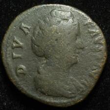 Diva Faustina Senior AE sestertius, rev. Aeternitas, Rome after 147AD - RIC 1105