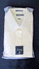 NIP Arrow Kent Shirt for the Tall Man   N- 17  S - 35 Yellow  Vintage ?  USA