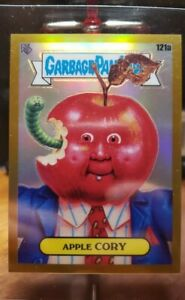 2020 Garbage Pail Kids Chrome Series 3 Apple Cory Gold Refractor 37/50 121a Mint