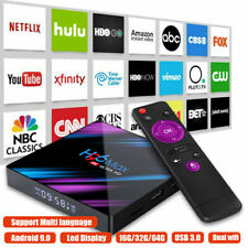 Fr 2020 Smart TV Box Lecteur Multimédia YouTube Android 9 9.0 4 GB 32gb 4k Wifi