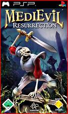 Sony PSP MEDIEVIL-il ritorno del ossa Brancaleone * versione tedesca di culto * *