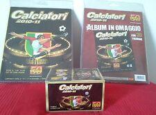 BOX Album Calciatori 2010/2011 PANINI SIGILLATO DA 100 BUSTINE + 2 ALBUM STARTER