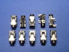 10 x Klinkeneinbaukupplung 3,5 mm Stereo Klinke Kupplung Kopfhörer