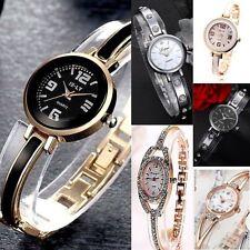 Ladies Women Dress or casual Wrist watch Bracelet style Steel band Analog Quartz