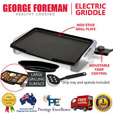 Electric BBQ Grill Plate Indoor Barbecue Kitchen Home Cooking Teppanyaki Griddle