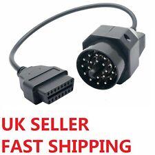 BMW 20 Pin OBD to OBD-II 2 16 Pin OBD2 Diagnostic Cable Adapter