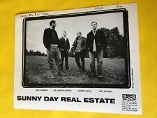 Sunny Day Real Estate Press Photo 8x10, Jeremy Enigk, Dan Hoerner, Sub Pop.