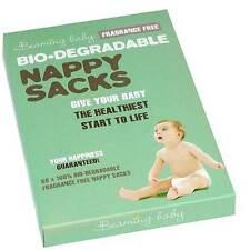 Beaming Baby Bio-dégradable sans parfum Nappy Sacs Pack De 60 couches Sacs