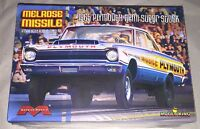 Moebius Melrose Missile 65 Plymouth Hemi Super Stock 1/25 model car kit new 1229