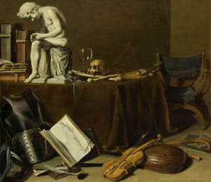 Pieter Claesz Vanitas Still Life with the Spinario Giclee Paper Print Poster