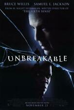 Unbreakable 11x17 Movie Poster (2000)